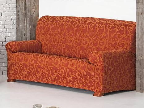 LaNovenaNube - Funda sofa OVER 3 plazas color Naranja ...