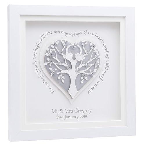 Wedding Gift Personalised Genuine Swarovski Crystals Choice ...