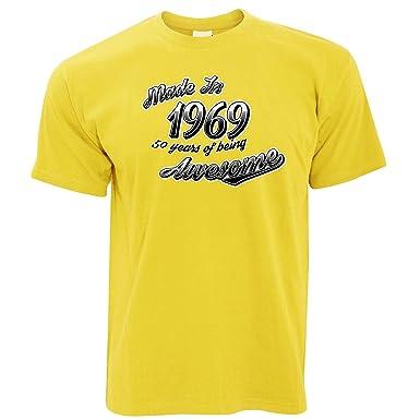 50a Camiseta de Regalo de cumpleaños para papá, Hecha en ...