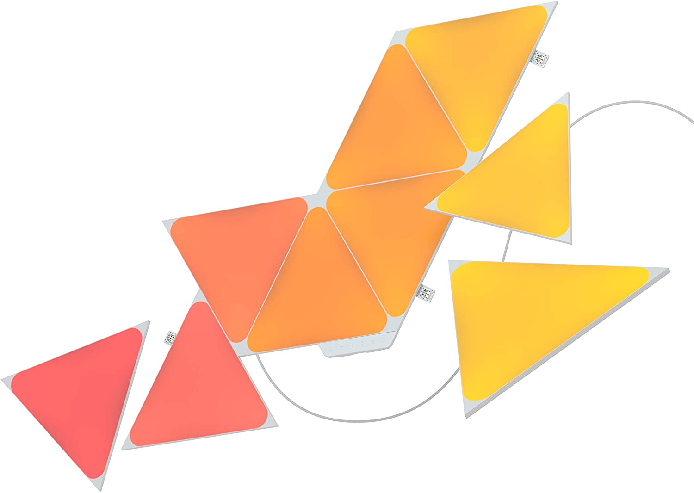Nanoleaf Shapes Triangles Starter Kit - 9 Triángulos Luminosos