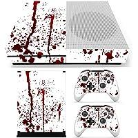 Fincos Bloody Skin - Pegatinas para Consola Xbox One S y 2 mandos