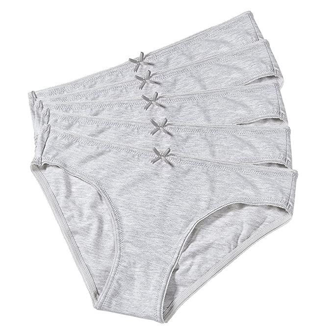 02e584241c Women's Cotton Triangular Panty Underwear Super Soft Stretch Cotton Hipster  Gray Comfort Panties Set (Pack of 5) at Amazon Women's Clothing store: