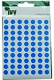 Ivy 232670 - Pegatinas con forma de círculo (8 mm de diámetro), color azul