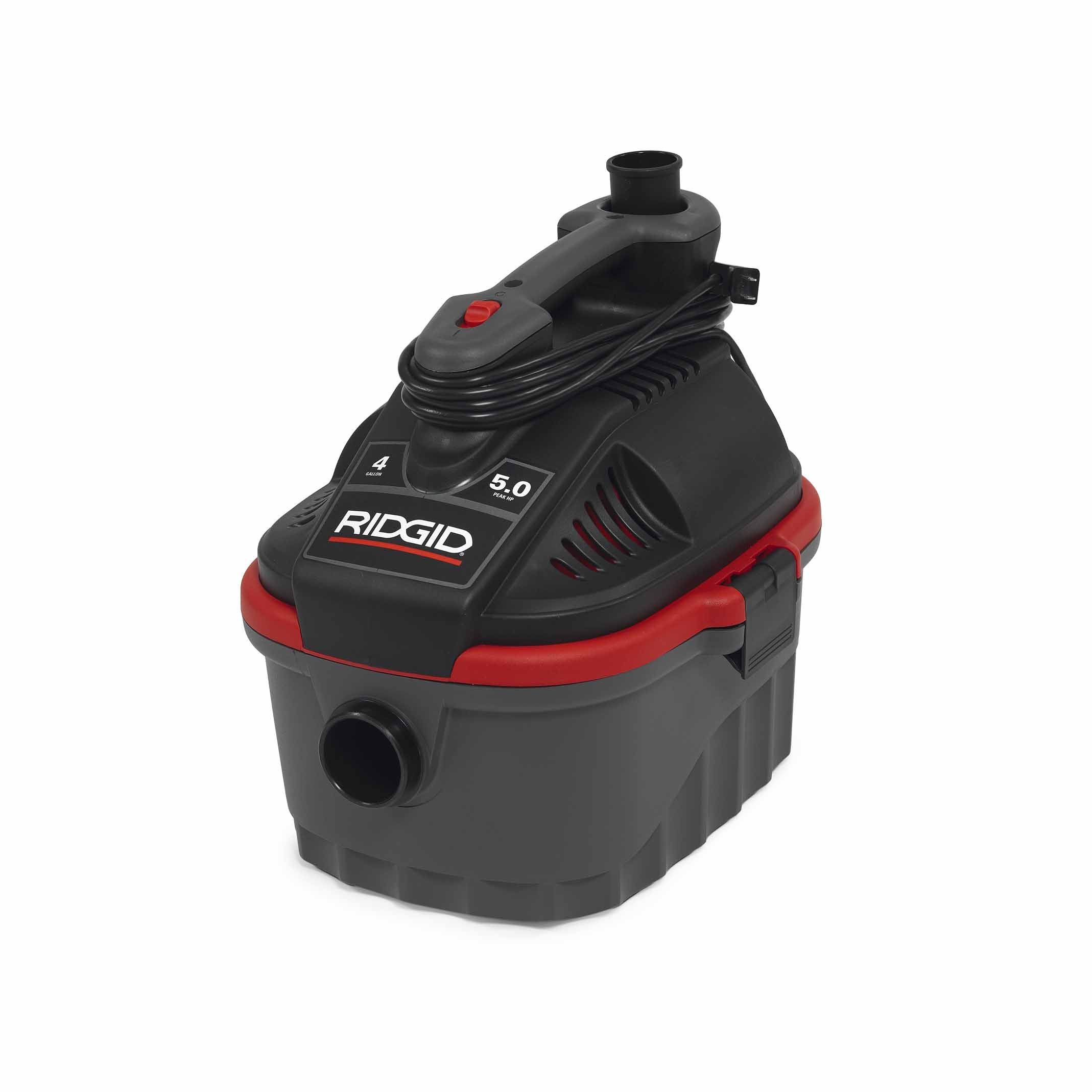 Ridgid 50313 4000RV Wet/Dry Vacuum, 4 gal, Red by Ridgid (Image #3)