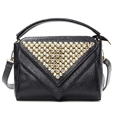 e2a980705168 Designer Crossbody Purse Handbag for Women - Top handle Flap Shoulder Bag  Small Satchel Purses Messenger Bags