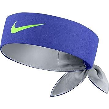 Buy NIKE Tennis Headband (Paramount Blue Wolf Grey Ghost Green 5eb88920986