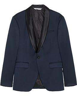 92db146a Zara Men's Contrasting Biker Jacket 8178/305 Brown · £106.95 · Zara Men's  Tuxedo Collar Blazer 5970/610 Blue
