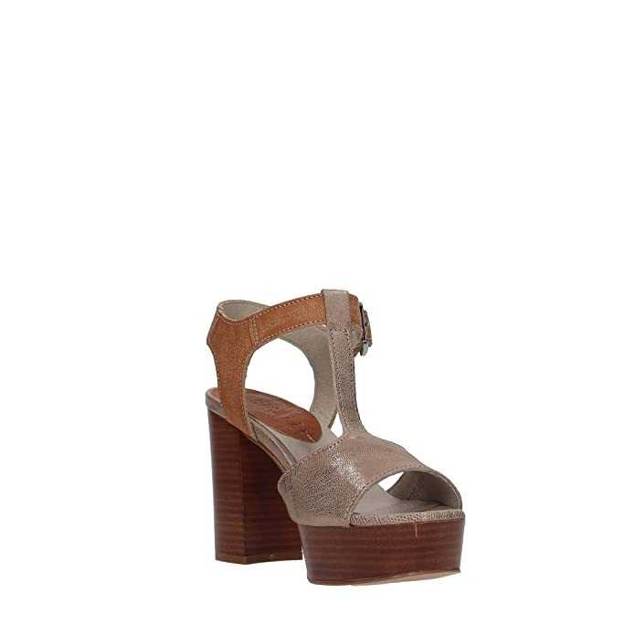 FABBRICA DEI COLLI Shoes Women high Heel Sandals 1URBAN100 Leather