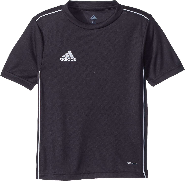adidas Unisex-Child Soccer Core18 Training Jersey : Clothing