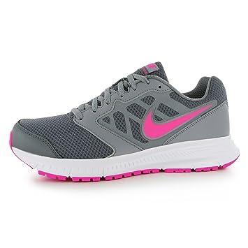 Nike Downshifter 6 Laufschuhe Damen Grau/Pink Run Fitness Trainer ...