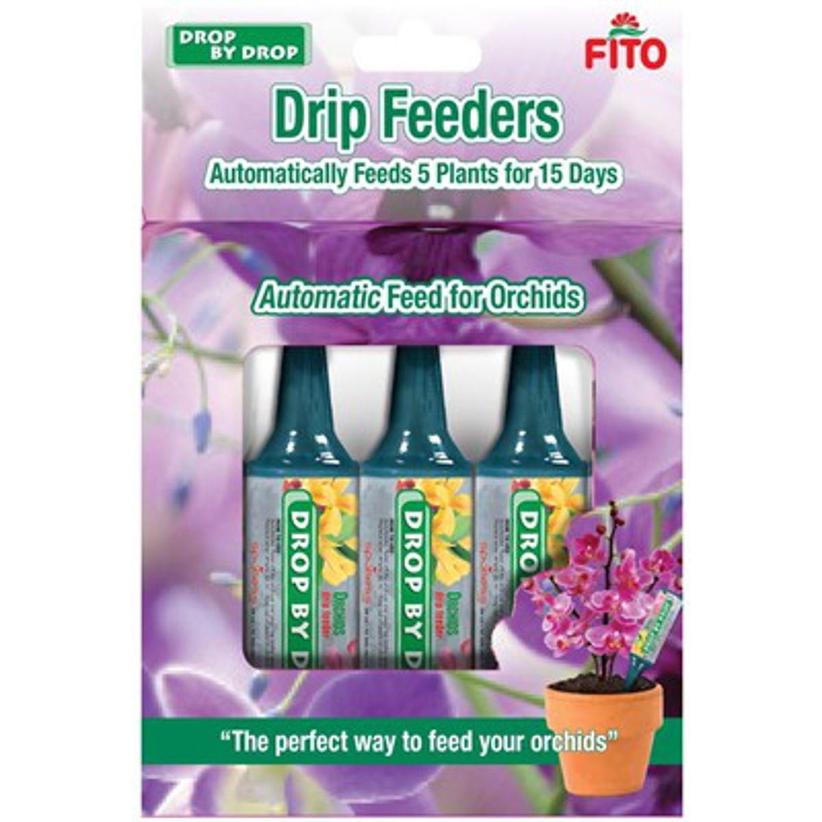 Fito Orchid Drop By Drop Drip Feeders Pack of 5 (5 x 32ml) Feeders