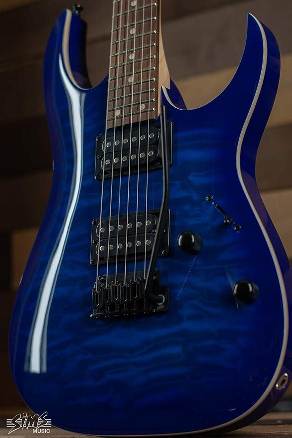 Ibanez GRGA GRGA120QATBB - Guitarra eléctrica (cuerpo sólido, 6 ...