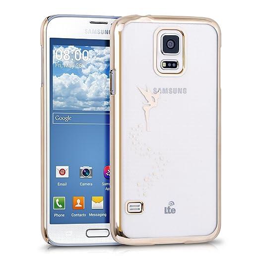36 opinioni per kwmobile Elegante e leggera custodia Crystal Case Design fata per Samsung Galaxy
