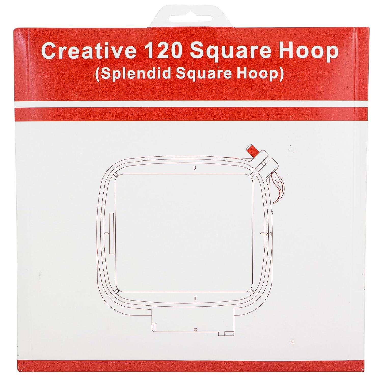 Sew Tech Embroidery Hoop Viking Splendid Square Hoop 120mm x 120mm Hoop 4336934107