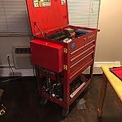 Sunex 8011 Screwdriver//Prybar Holder Steel Large Red Powdercoated Each