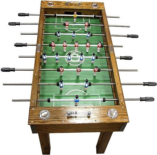 Portugués Profesional Home Edition madera maciza mesa de futbolín fútbol fútbol matraquilhos, fabricado en Portugal: Amazon.es: Deportes y aire libre