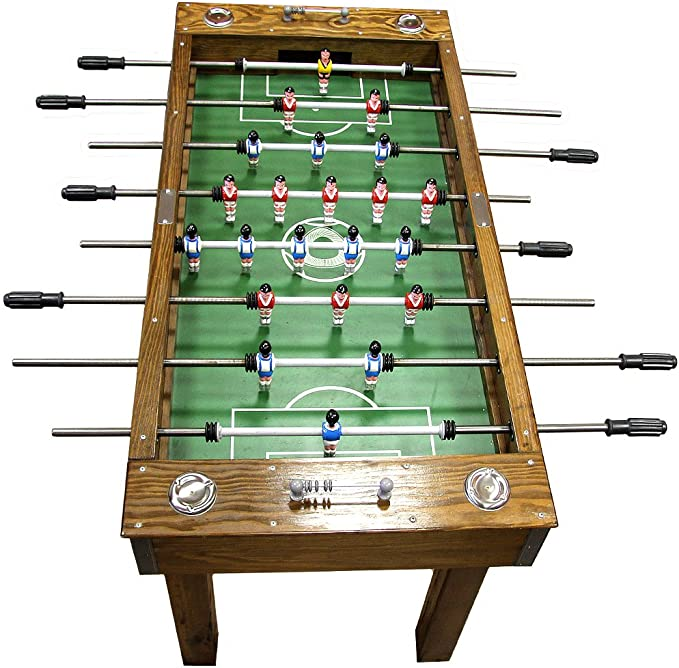 Portugués Profesional Home Edition madera maciza mesa de futbolín ...