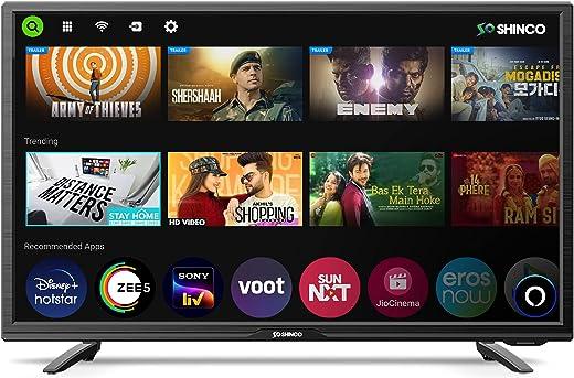 Shinco 32 Inch HD Ready Smart LED TV with Alexa Built-in SO32SF (2021 Model)