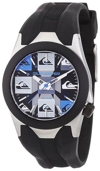 Quiksilver Y020BR 2T - Reloj analógico infantil de cuarzo con correa de plástico negra