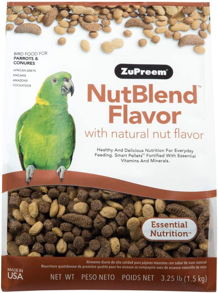 ZuPreem Premium Nutritional Products Nut Blend Bird Food 17.5 Lb