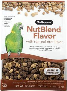 ZuPreem Premium Nutritional Products Nut Blend Bird Food 17.5 Lb