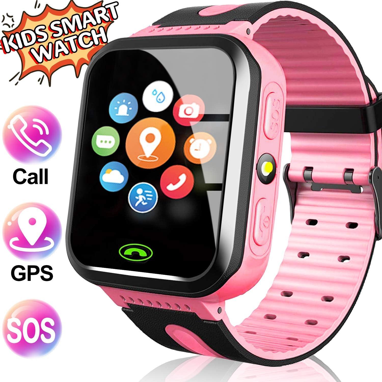 GBD Kids Smartwatch GPS Tracker para Niños 1.44 Pantalla Táctil ...