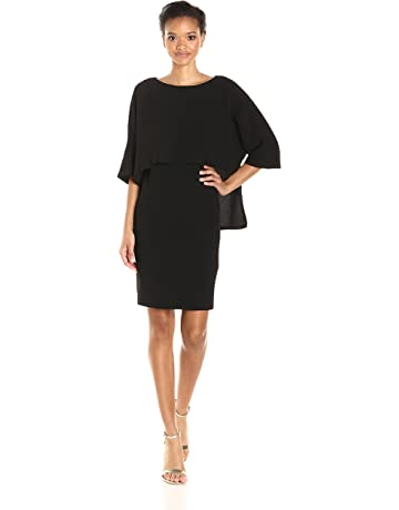 d1c516585bb1c Adrianna Papell Women s Draped Blouson Sheath Dress