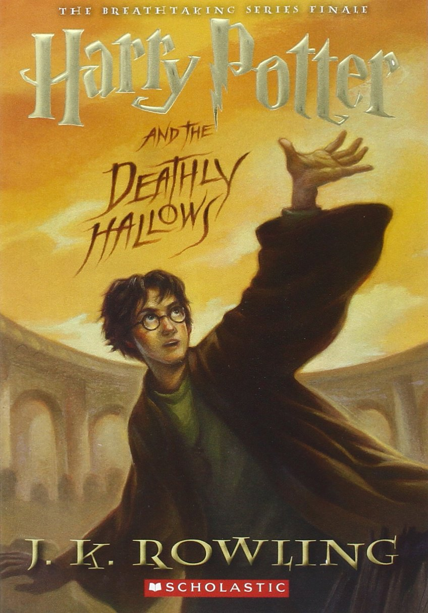 Image result for harry potter book 7