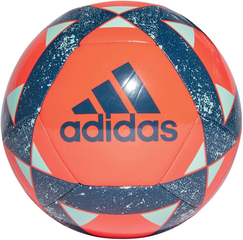 adidas Starlancer V Balón de Fútbol, Hombre, Active Orange/Legend ...