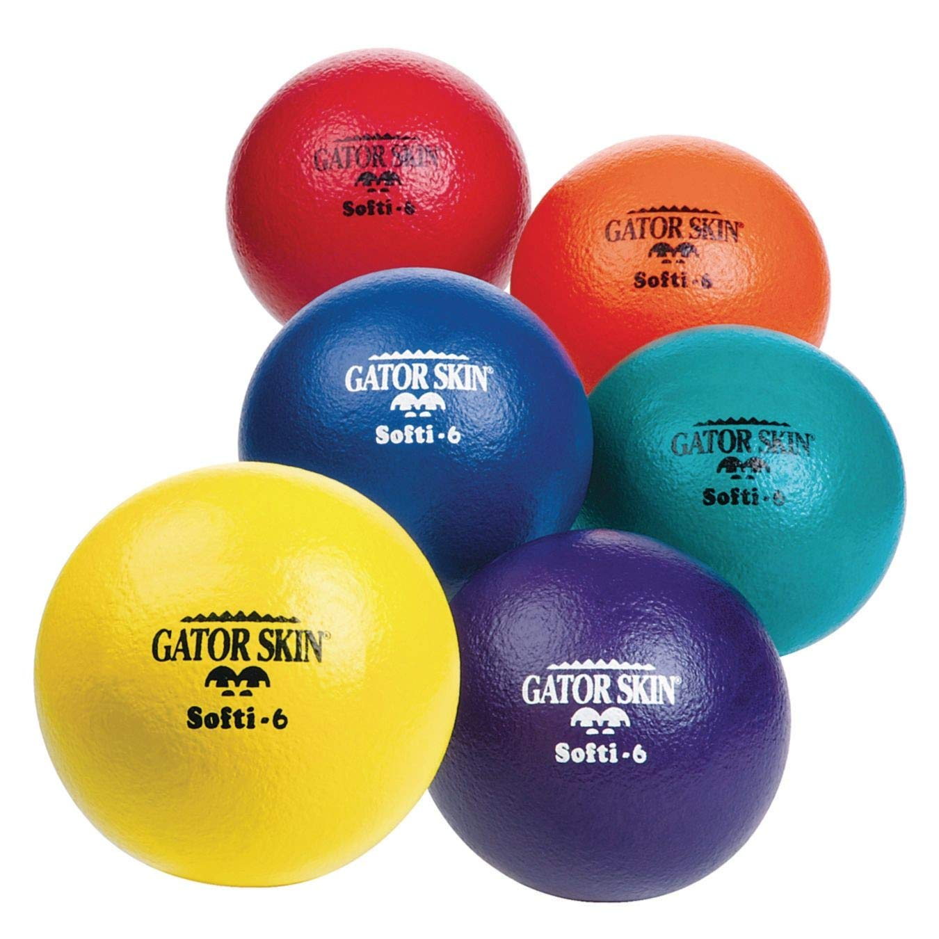 Gator Skin 6'' Softi Balls (Set of 6) by Gator Skin (Image #1)