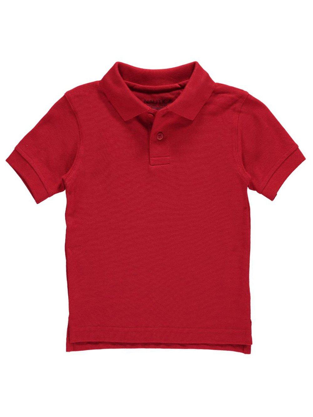 Nautica Little Boys' School Uniform Pique Polo