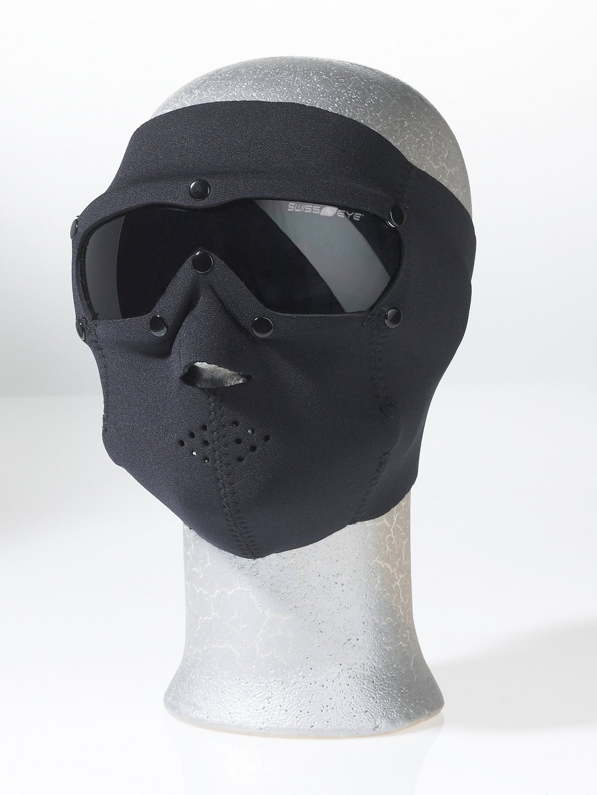 Swiss Eye Neoprene Face Mask with Smoke Lens - Black