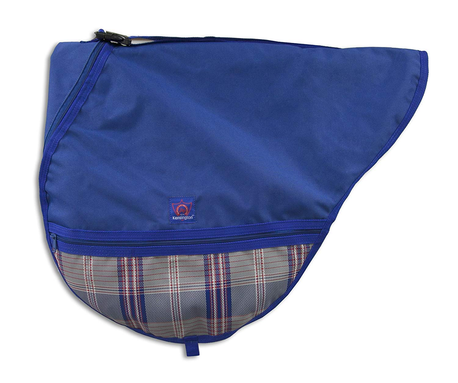 Kensington All Purpose Saddle Cover, Navy/Patriot Plaid, One Size by Kensington Protective Products