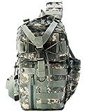 IMPACK RT1525 Tactical Molle Assault Shoulder Cross Body One Strap Sling Backpack