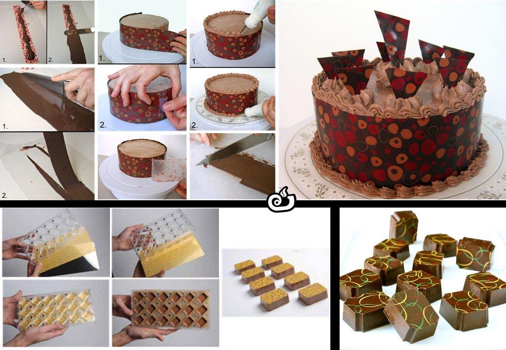 Hojas de transferencia para decorar chocolates con diseños variados (Flores rojas) 3 Hojas por paquete: Amazon.es: Hogar