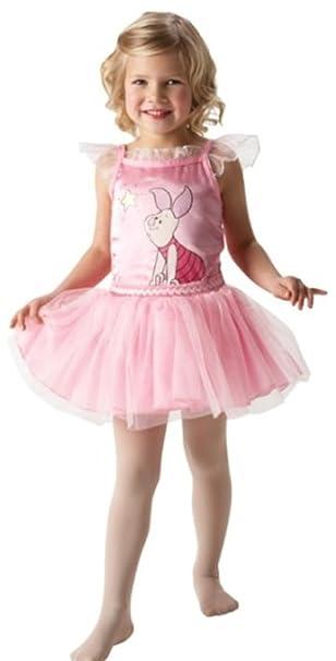 Amazon.com: Disney Piglet las niñas Bailarina Disfraz Edad 3 ...