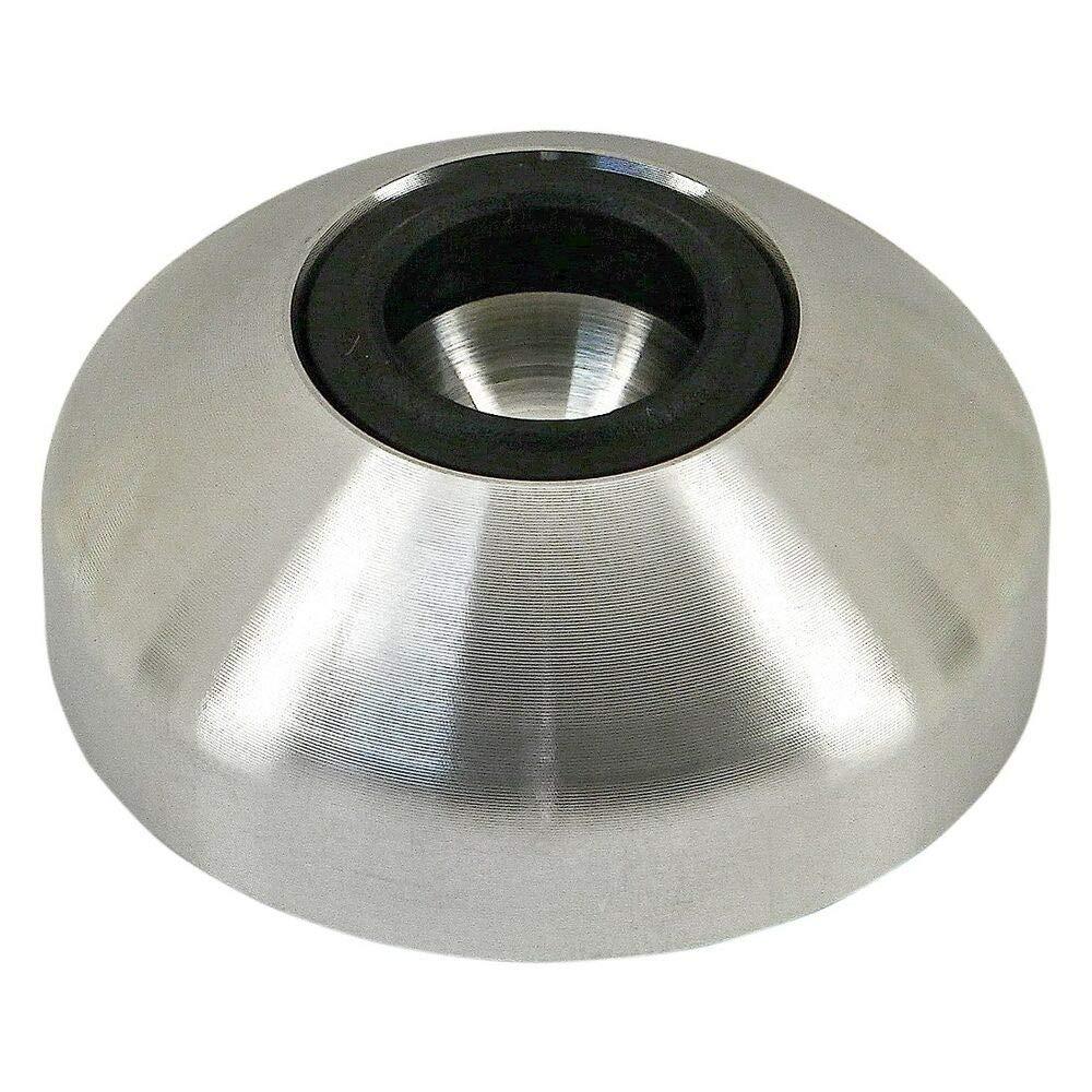80/20 Inc. Stainless Steel 44mm Diameter Swivel Foot Base Part #12174 N