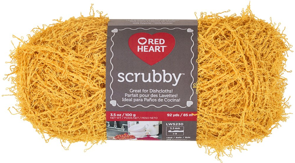 RED HEART Scrubby Yarn, Waves Coats & Clark E833.0936
