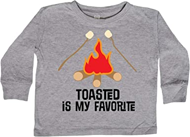 inktastic Roasted Marshmallows Camping Campfire Baby T-Shirt
