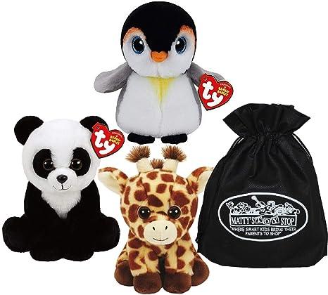 Amazon.com  Ty Beanie Babies Peaches (Giraffe) 8d735e8f41b