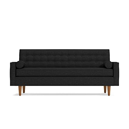 Amazon.com: Saturn Sofa, Coal: Kitchen & Dining