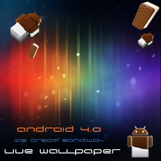 Ice Cream Wallpapers V1 For Android: Ice Cream Sandwich ICS Galaxy