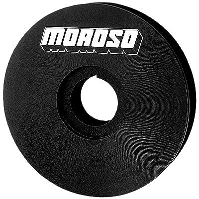 "Moroso 23523 4"" V-Belt Crankshaft Pulley: Automotive"