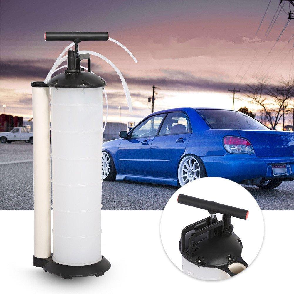 Pompe d' huile, 7L Pompe d' huile Vidange Manuelle Extraction Diesel Huile l' eau Liquide pour Moteur Voiture Moto Camion Bateau Zerone