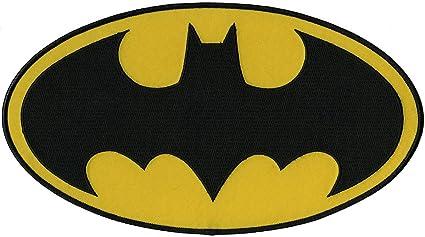 Amazon Com C D Visionary Application Dc Comics Batman Logo Back Patch Toys Games