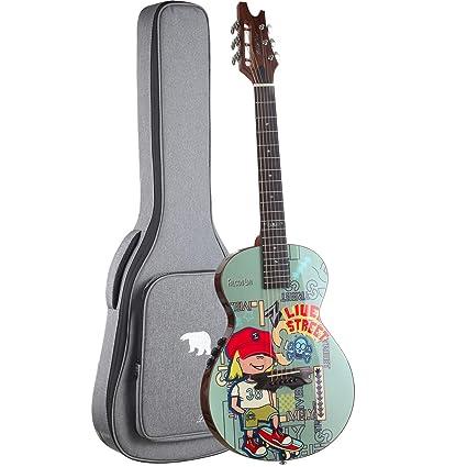 Amazon.com: PolarBear Cajon Guitarra acústica eléctrica de ...