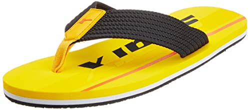 f97c1abd7 Sparx Men s Yellow Rubber Flip-Flops and House Slippers - 10 UK (SF2035G)