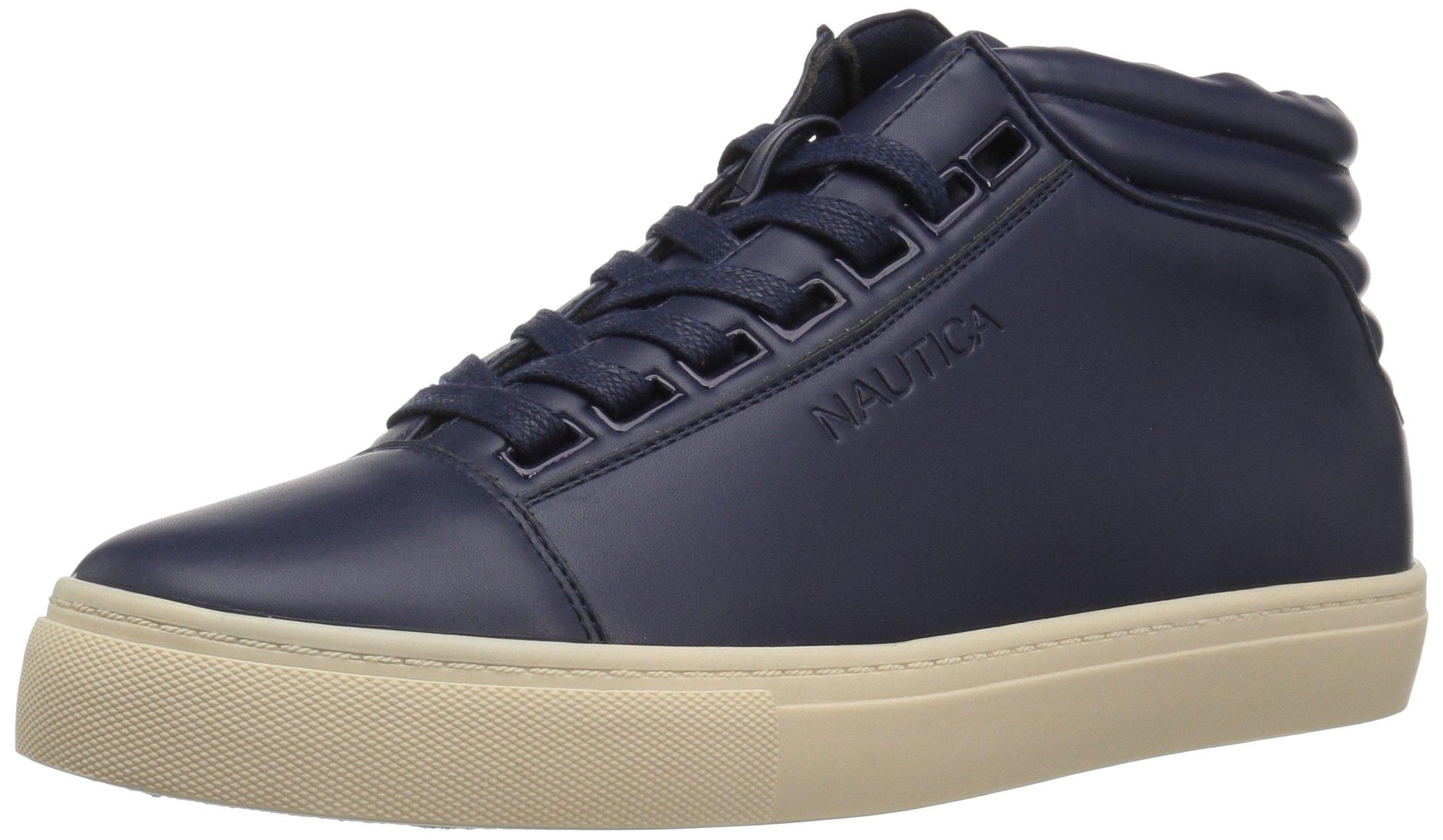 Nautica Men's Balen Sneaker, True Navy Smooth, 9.5 M US