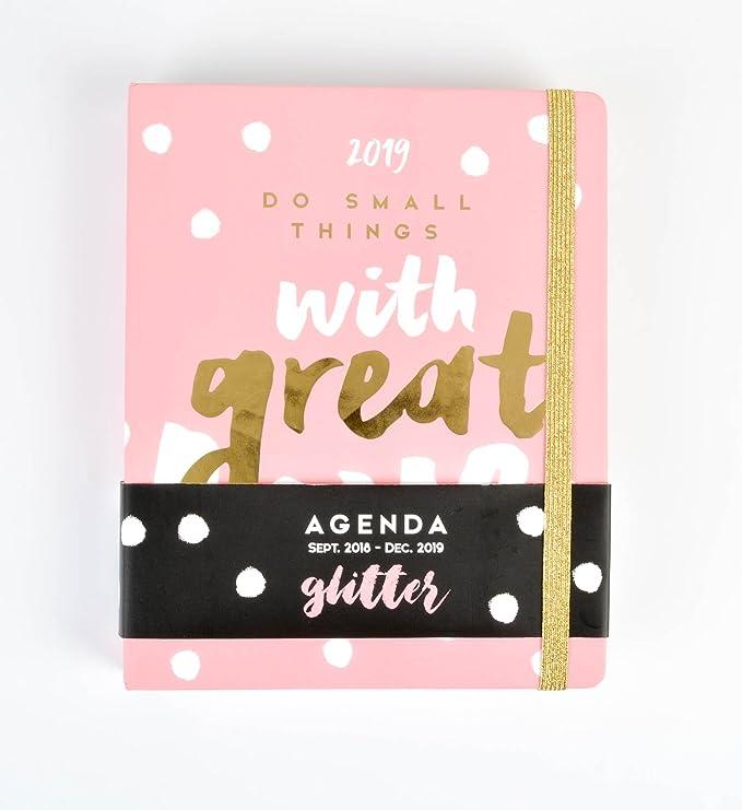Amazon.com: Planificador semanal con purpurina, planificador ...