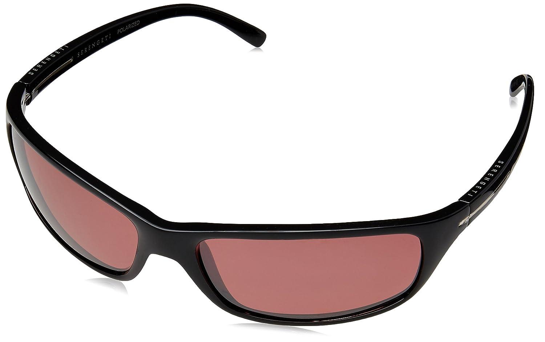 Amazon.com: anteojos de sol SERENGETI Pisa, negro: Sports ...